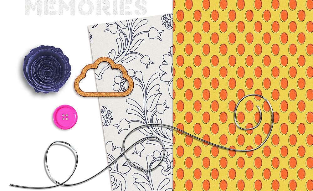 Buried Treasures Free Digital Scrapbook Kit - Sahin Designs