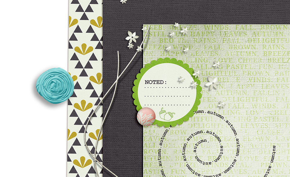 Delightful Free Digital Scrapbook Kit - Sahin Designs