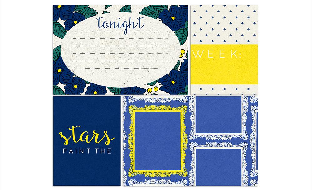 Reflections at Night Free Digital Scrapbook Kit - Sahin Designs