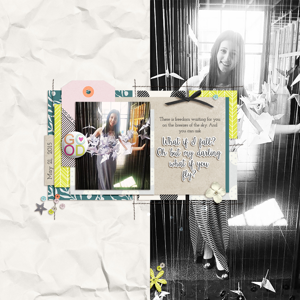 Don't Mess Up with Your Shadows - Sahin Designs - Digital Scrapbook Tips