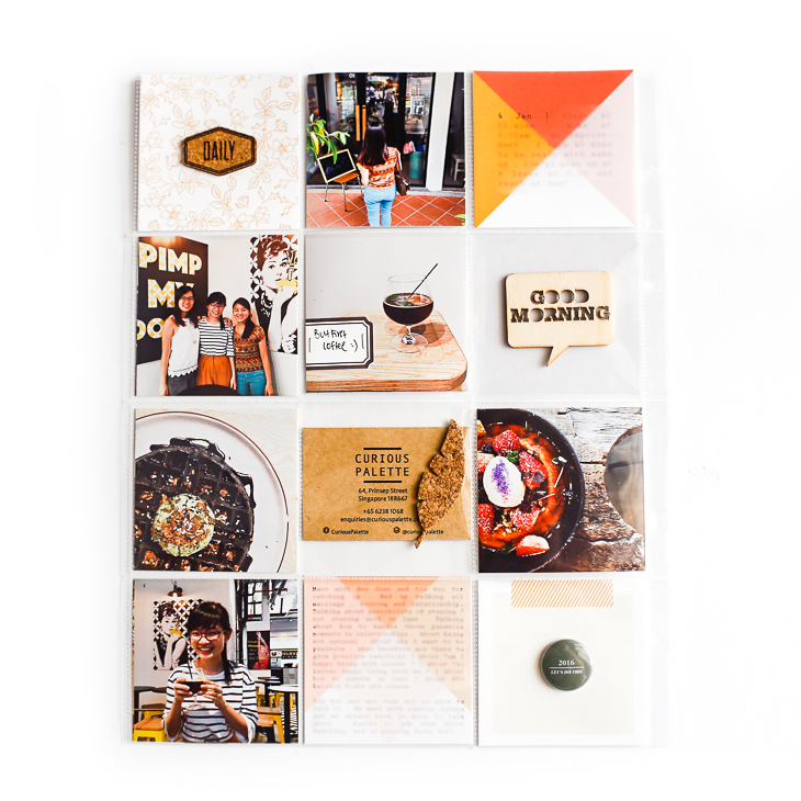 Project Life Using Fireside Collection - Sahin Designs - Scrapbook Inspirations
