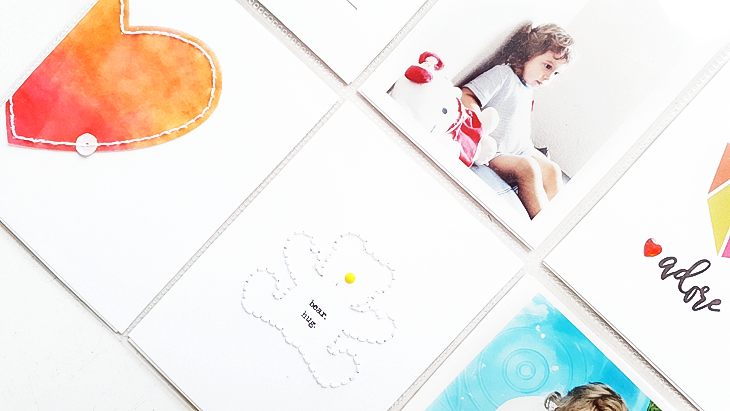 Color Composition for Scrapbook Layouts - Sahin Designs