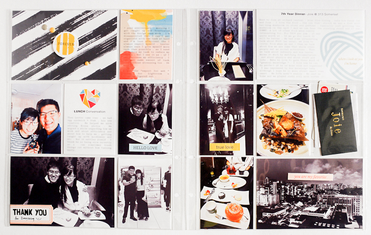 Project Life Hybrid Process Part 2 - Sahin Designs - Pocket Scrapbook