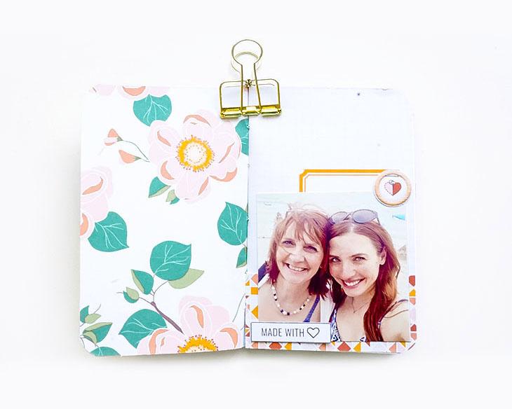 A Mini Book Inspiration - Sahin Designs