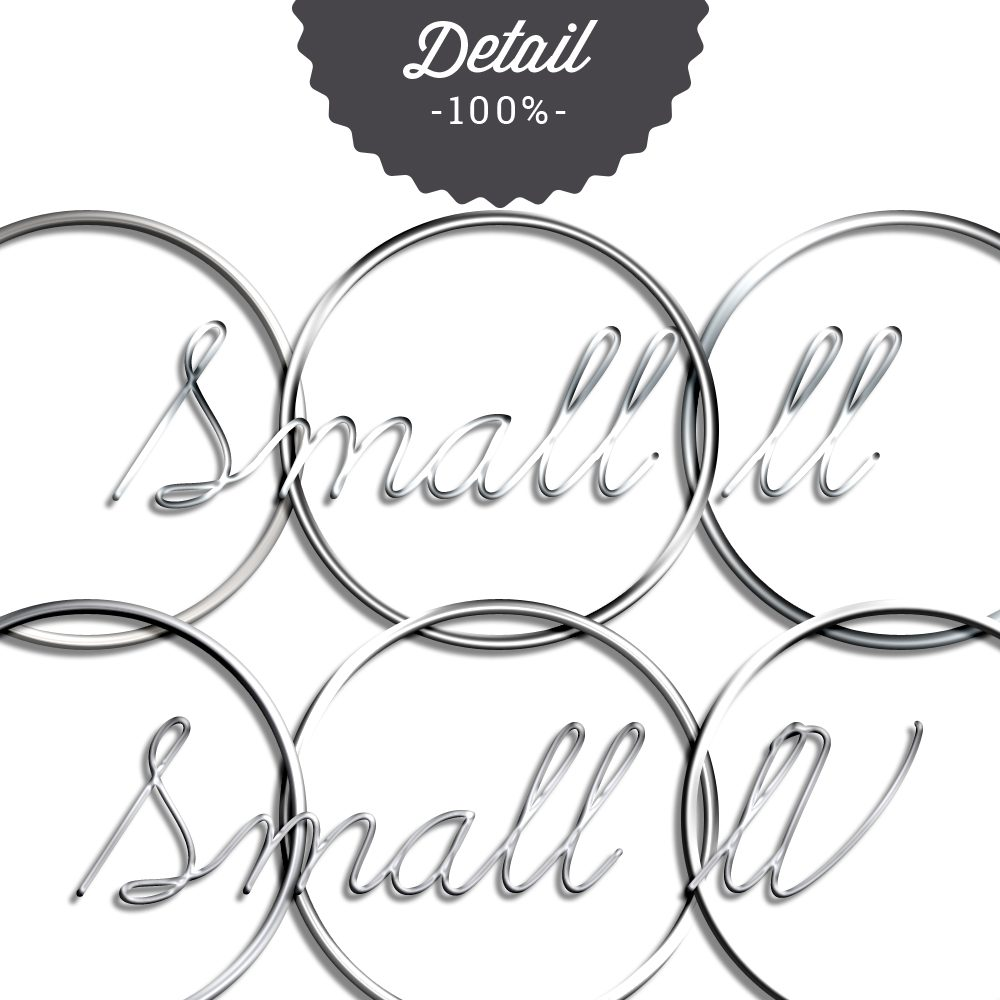 Metal Wire Photoshop Layer Styles by Sahin Designs. Commercial Use Digital Scrapbook Supplies. Click to download the kit. Pin & save for later!