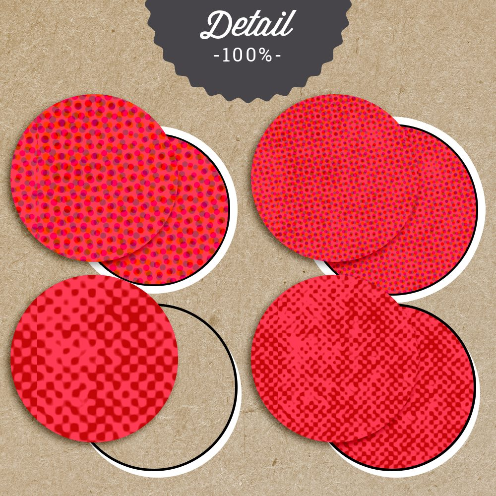 Retro Halftone Photoshop Layer Styles by Sahin Designs. Commercial Use Digital Scrapbook Supplies. Click to download the kit. Pin & save for later!