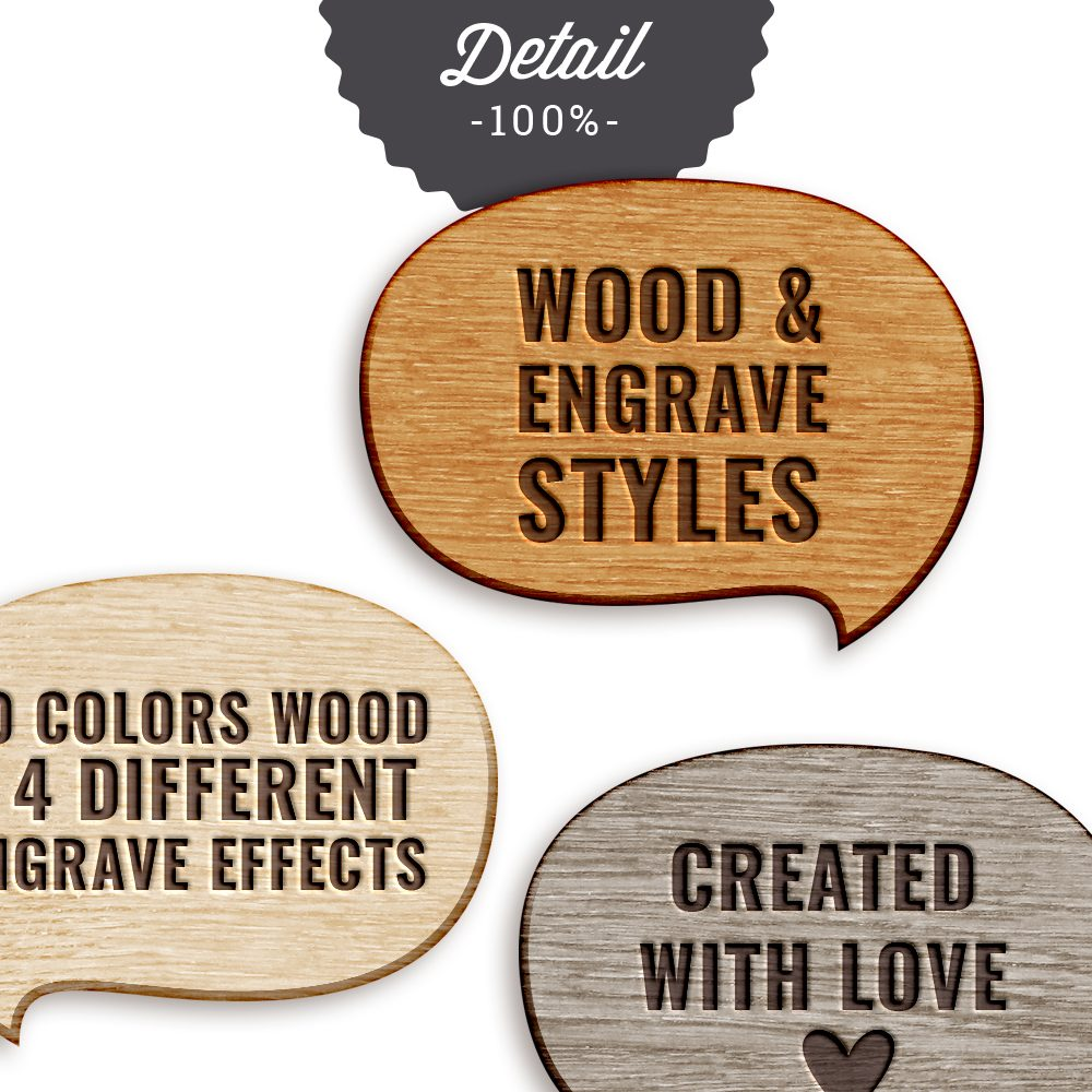 Wood Veneer Photoshop Layer Styles by Sahin Designs. Commercial Use Digital Scrapbook Supplies. Click to download the kit. Pin & save for later!