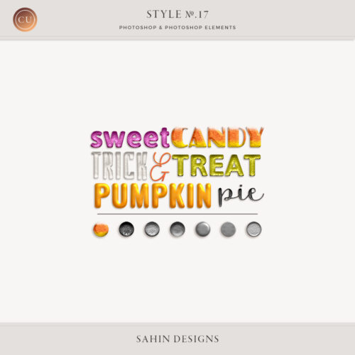 Candy Photoshop Layer Styles by Sahin Designs. Commercial Use Digital Scrapbook Supplies. Click to download the kit. Pin & save for later!