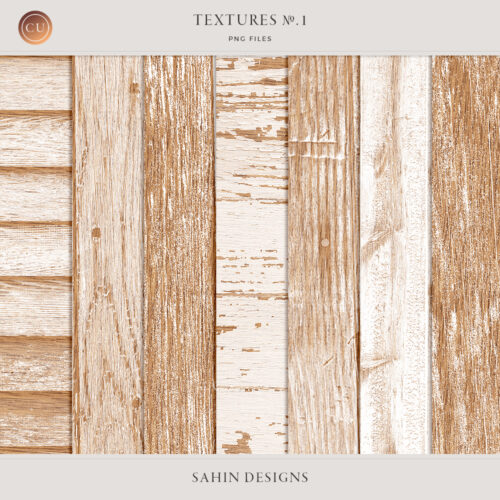 Textures No.1: Wood by Sahin Designs. Commercial Use Digital Scrapbook Supplies. Click to download the kit. Pin & save for later!