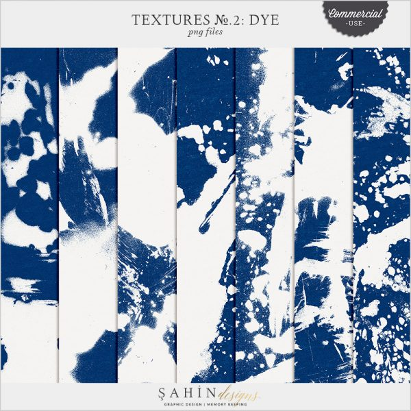Textures No.2: Dye by Sahin Designs. Commercial Use Digital Scrapbook Supplies. Click to download the kit. Pin & save for later!