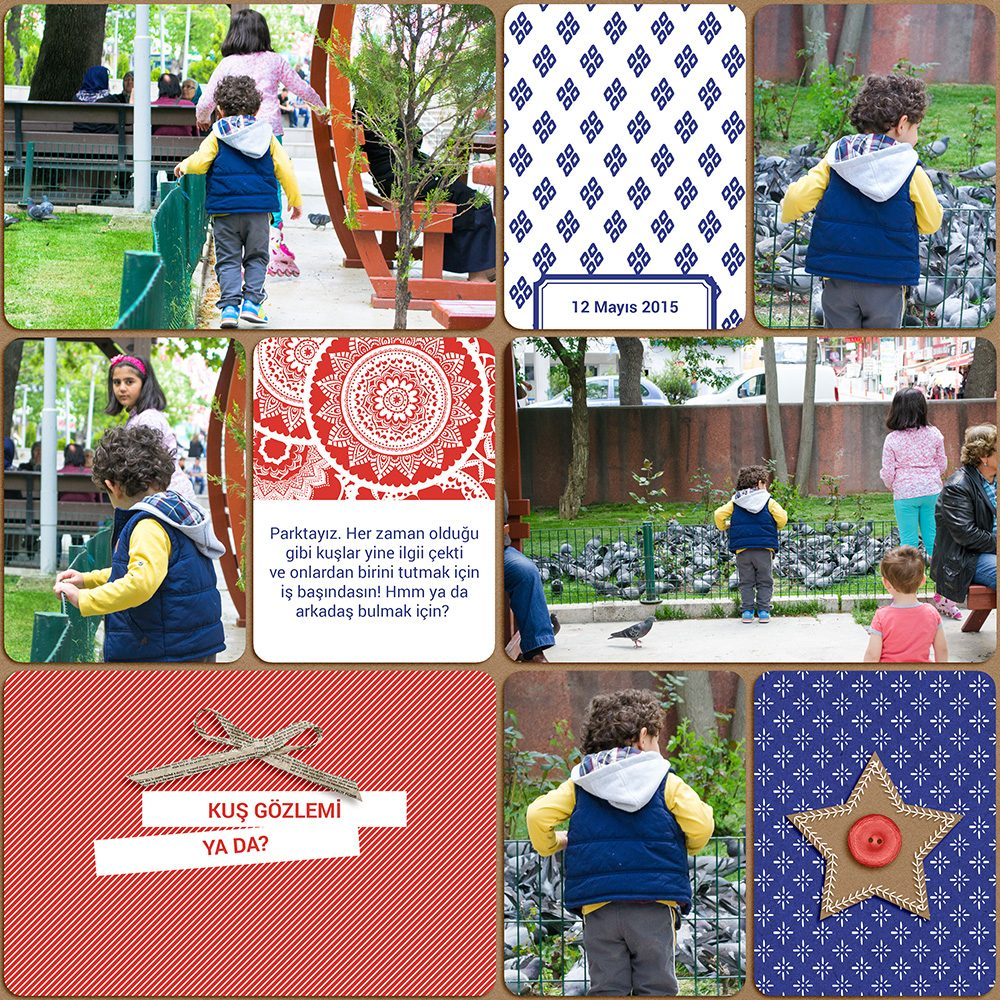 Digital scrapbook layout using Dear Old Dad collection by Sahin Designs. Click thru to see more inspirations. Pin & save for later!