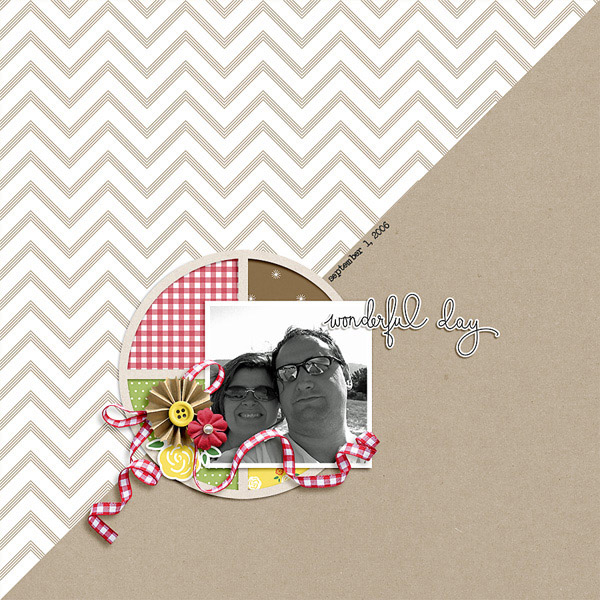 Picnic Day Digital Scrapbook Elements - Sahin Designs