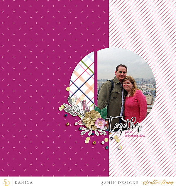 Digital scrapbook layout using Ramadan collection by Sahin Designs. Click thru to see more inspirations. Pin & save for later!