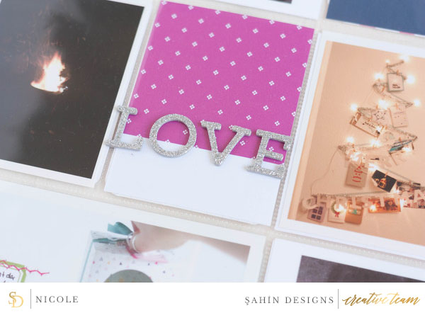 Hybrid Pocket scrapbook layout using Ramadan collection by Sahin Designs. Click thru to see more inspirations. Pin & save for later!