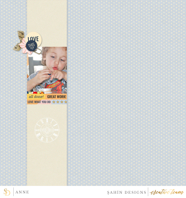 Digital scrapbook layout using Work Day collection by Sahin Designs. Click thru to see more inspirations. Pin & save for later!