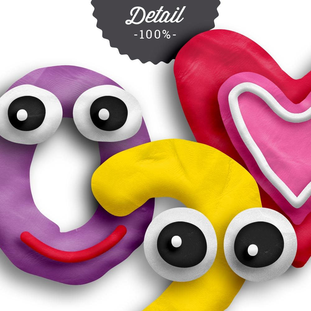 Play Dough Photoshop Layer Styles by Sahin Designs. Commercial Use Digital Scrapbook Supplies. Click to download the kit. Pin & save for later!