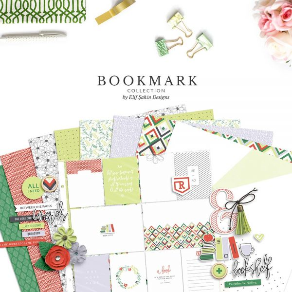 Bookmark Digital Scrapbook Collection Bundle | Sahin Designs