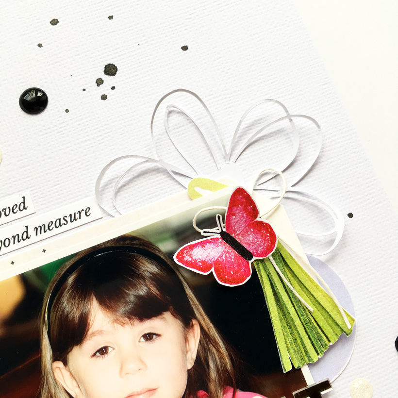 Hybrid Scrapbook Layout Inspiration | Sahin Designs