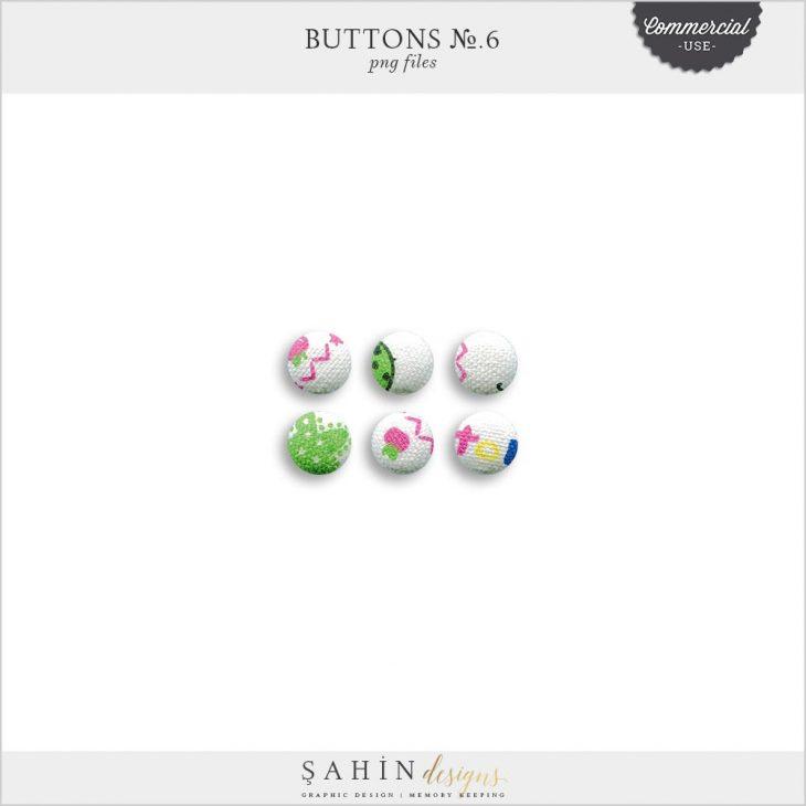 Extracted Fabric Buttons   CU Digital Scrapbook   Sahin Designs