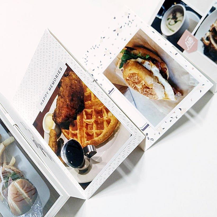 Create a food mini book | Scrapbooking | Sahin Designs