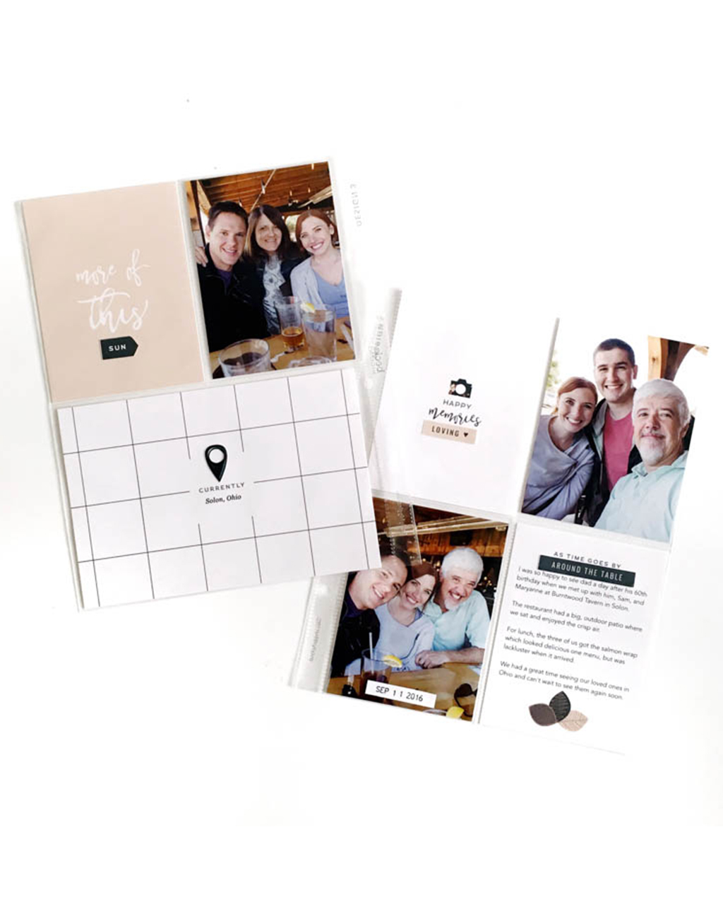 How To Document Little Stories in Project Life | Scrapbook Tips | Sahin Designs