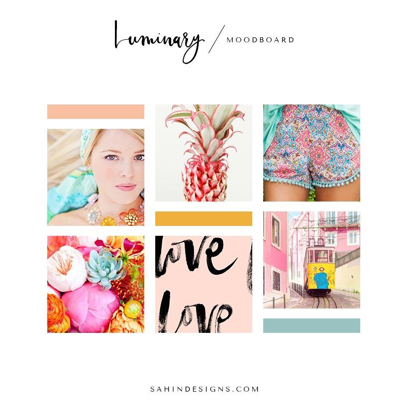 Luminary Moodboard | Sahin Designs | Design Inspiration