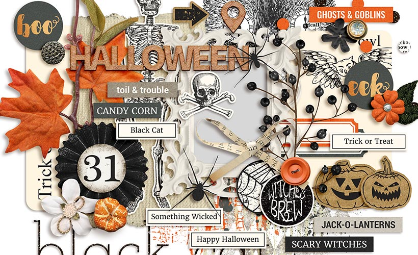 Fright Digital Scrapbook Collection by Sahin Designs