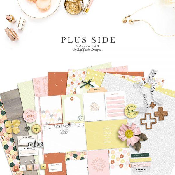 Plus Side Digital Scrapbook Collection - Sahin Designs