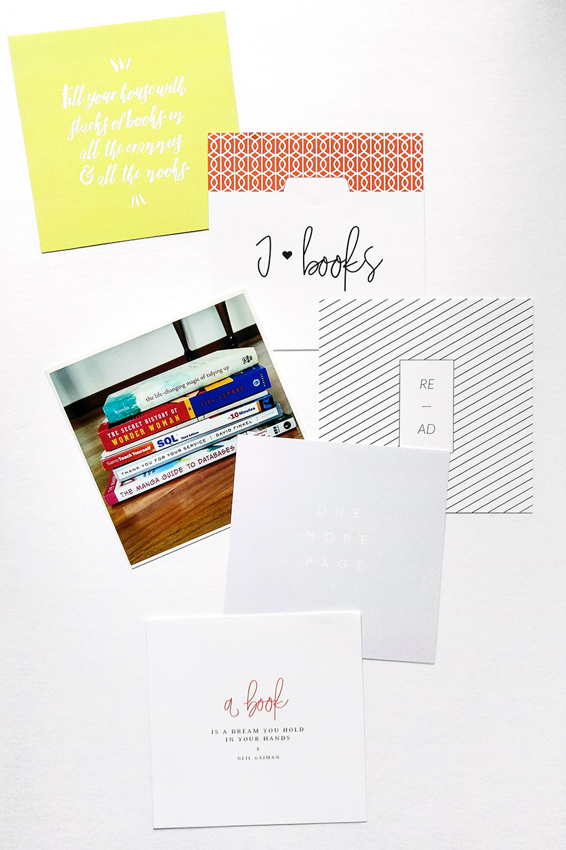 DOcumenting Your Reading List - Scrapbook Tips - Sahin Designs