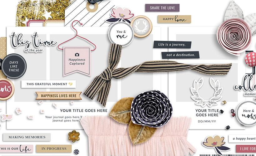 Grace Digital Scrapbook Collection   Sahin Designs