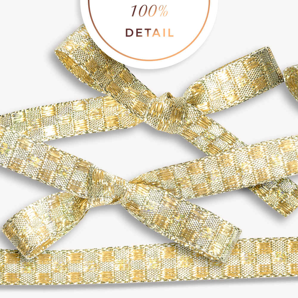 Extracted Glittery Gold Ribbons - CU Digital Scrapbook - Sahin Designs