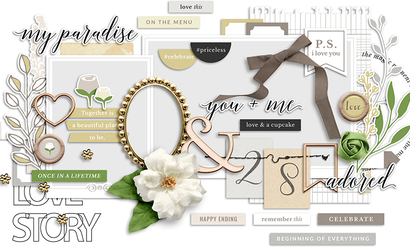 Special Day Digital Scrapbook Collection by Sahin Designs