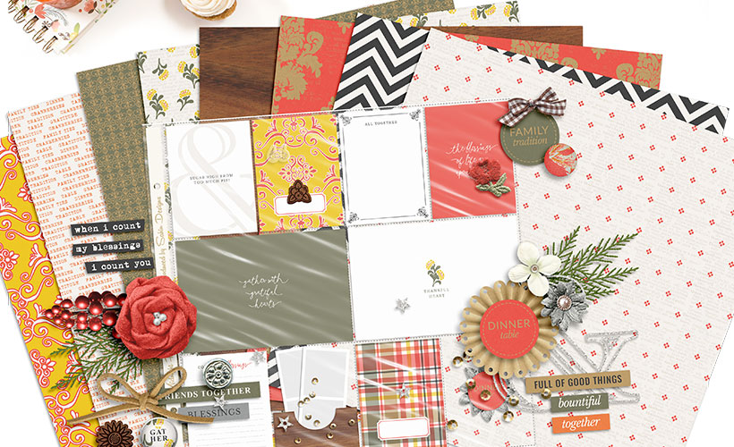 Shop Update | Gather Collection & November Layout Templates