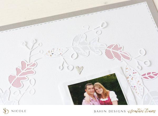 Hybrid Scrapbook Layout Inspiration | Sahin Designs