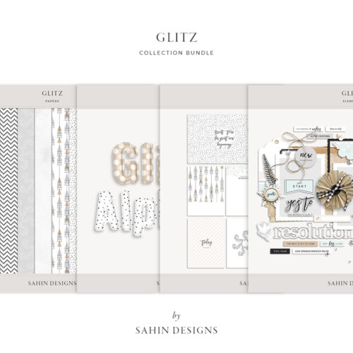 Glitz Digital Scrapbook Collection - Sahin Designs