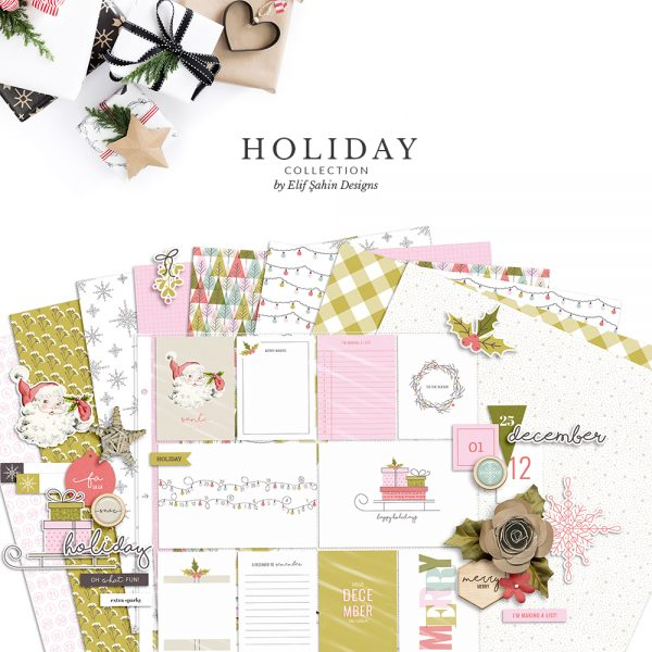 Holiday Digital Scrapbook Collection - Sahin Designs