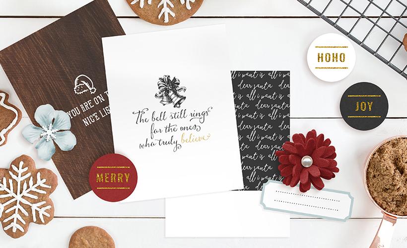 Dear Santa Christmas Digital Scrapbook Collection - Sahin Designs