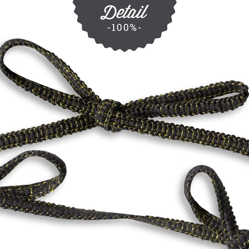 Extracted Black Glittery Ribbons - Sahin Designs - CU Digital Scrapbook