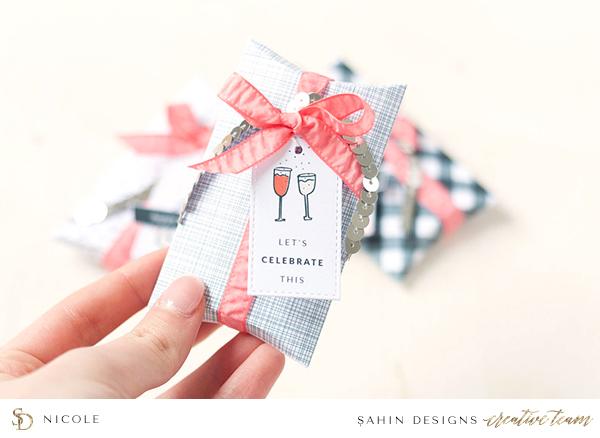 Printable Gift Boxes - Scrapbooking - Sahin Designs