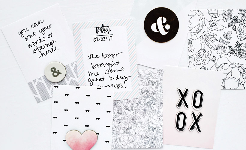 3 Ways to Use Digital Papers in Pocket Scrapbooking