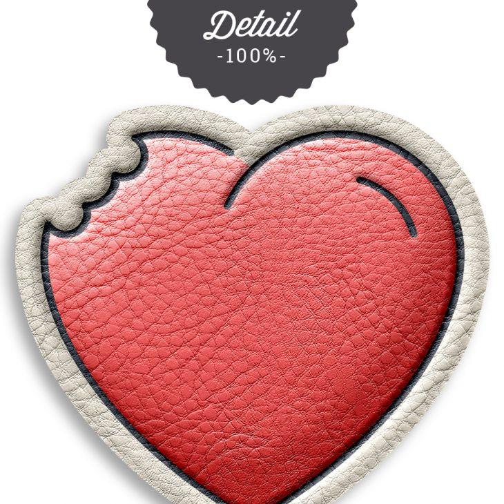Puffy Leather Photoshop Layer Styles - Sahin Designs - CU Digital Scrapbook