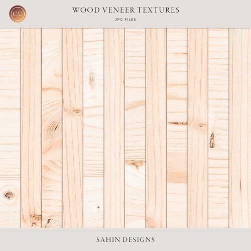 Digital Wood Veneer Textures for Commercial Use Digital Scrapbooking - Sahin Designs