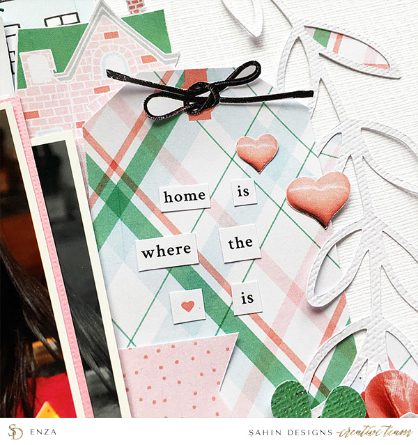 Everyday Scrapbook Layout - Sahin Designs - Hybrid