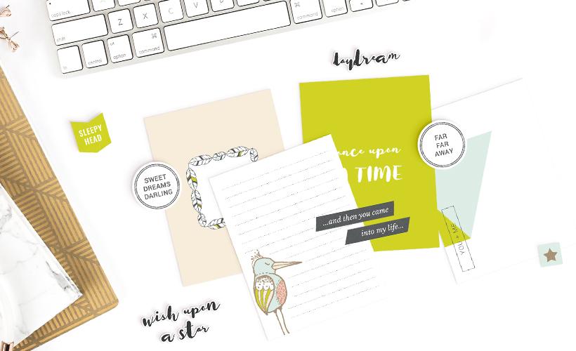 Drift Off Digital Scrapbook Collection - Sahin Designs - Baby Theme
