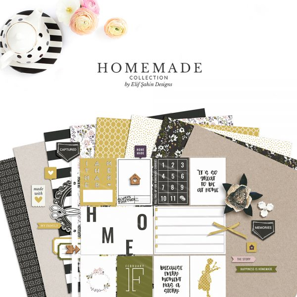 Homemade Digital Scrapbook Collection - Sahin Designs