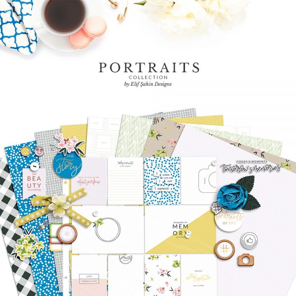 Portraits Digital Scrapbook Collection - Sahin Designs - Everyday Life