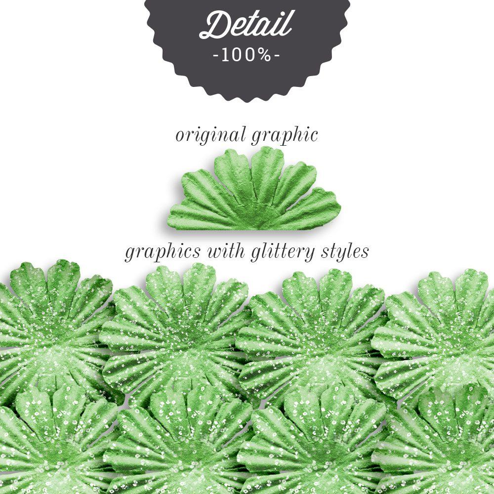 Glittery Photoshop Layer Styles - Sahin Designs - CU Digital Scrapbook