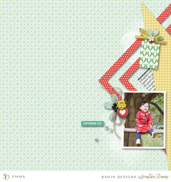 March 2017 Creative Gallery Sahin Designs Digital Scrapbook