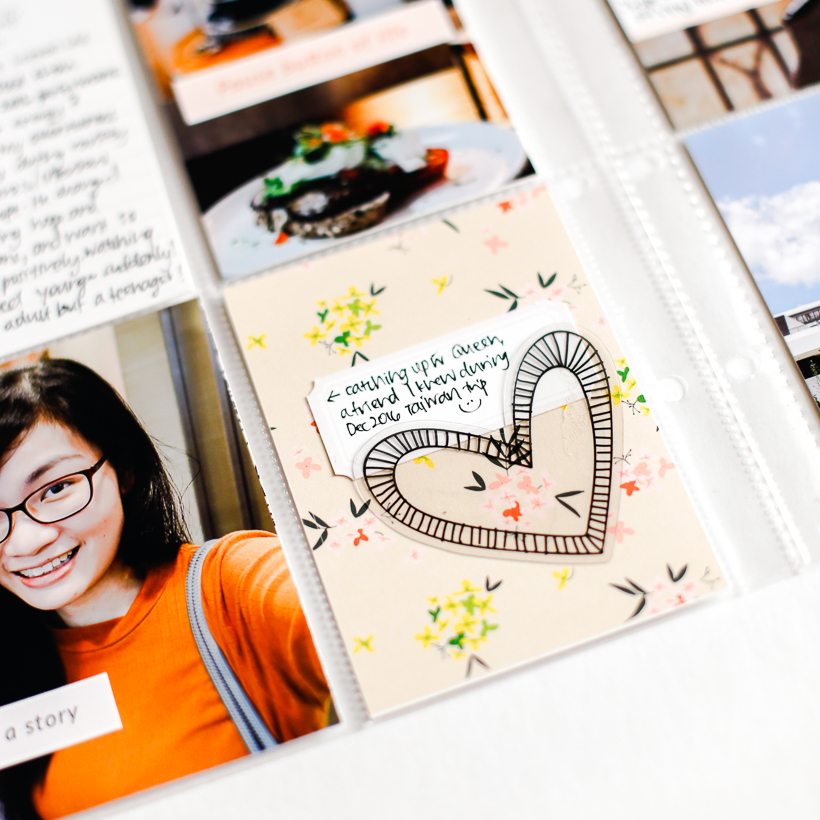Document Your Week Even With Few Photos - Sahin Designs - Scrapbook Tips