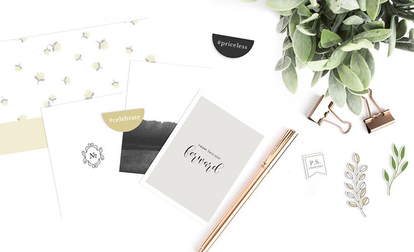 Special Day Digital Scrapbook Collection - Sahin Designs - Wedding Theme